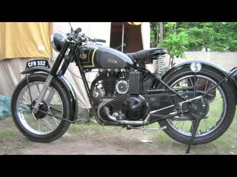 Taller de motos clasicas restauradas