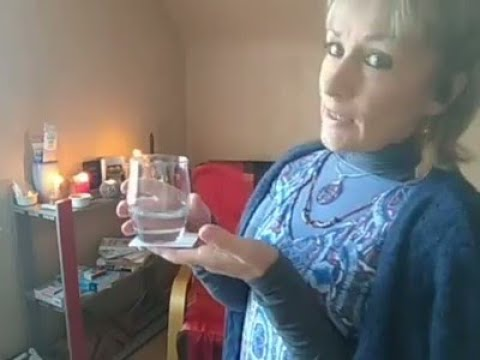 🙏Voir un vœux se réaliser🙏technique du verre d'eau MAGIQUE 💛