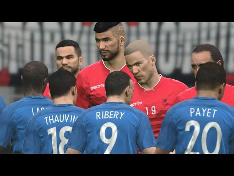 Albania vs France | International Friendly Match 2016 | Pes Gameplay PC