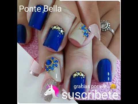 Videos de uñas - Diseños bonitos para uñas naturales/beautiful designs for natural nails