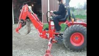 2. 2004 KIOTI LB1914 (Tractor / Loader / Backhoe) For Sale $10,700