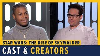 Star Wars: The Rise of Skywalker - JJ Abrams, John Boyega, Kelly Marie Tran, Keri Russell & More by Comicbook.com