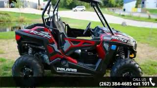 9. 2015 Polaris RZR 900 EPS Trail Sunset Red  - Action Power...