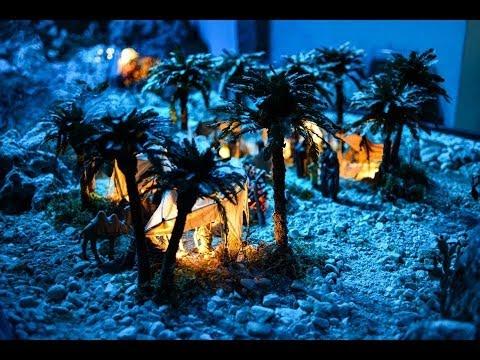 Preview video Presepe Artistico di Cigoli, Natale 2014