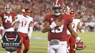 College Football Highlights: Tua Tagovailoa, No. 1 Alabama roll against Louisville | ESPN