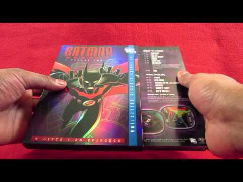 UNBOXING Batman Beyond Complete Series