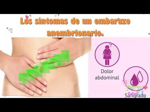 Embarazo anembrionario causas y porque se da?