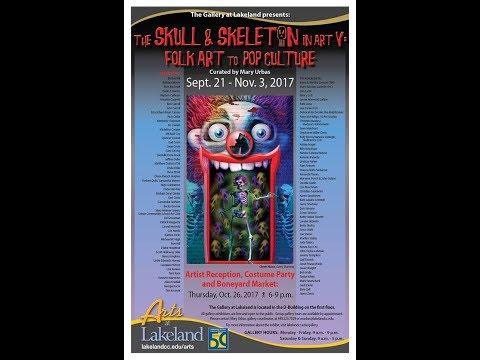 The Skull and Skeleton in Art V; Folk Art to Pop Culture