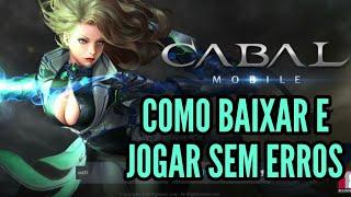 Baixar whatsapp - FINALMENTE! MMORPG CABAL MOBILE CBT COMO BAIXAR E JOGAR SEM ERROS  TUTORIAL E GAMEPLAY BR DOWNLOAD