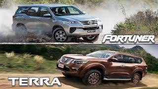 Video 2018 Nissan Terra VS 2018 Toyota Fortuner MP3, 3GP, MP4, WEBM, AVI, FLV Maret 2019