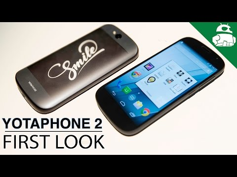 Yotaphone 2 - First Impressions & Hands On!