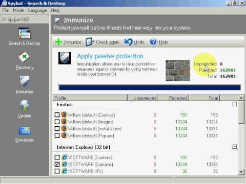 Web Tutorial Sicurezza di Base: software per rimozione spywa...
