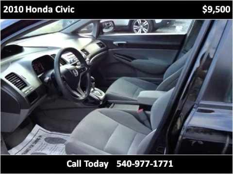 2010 Honda Civic Used Cars Roanoke VA