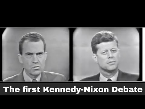 26th September 1960: Kennedy and Nixon's first televised debate