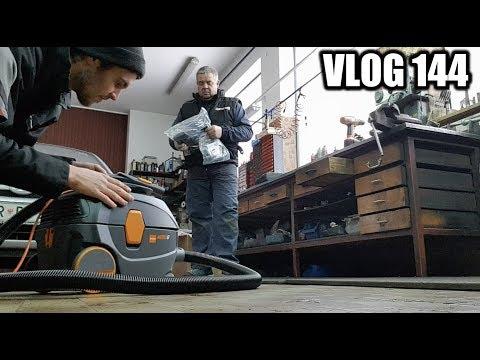 Kako bo šele zdaj čista delavnica - VLOG 144