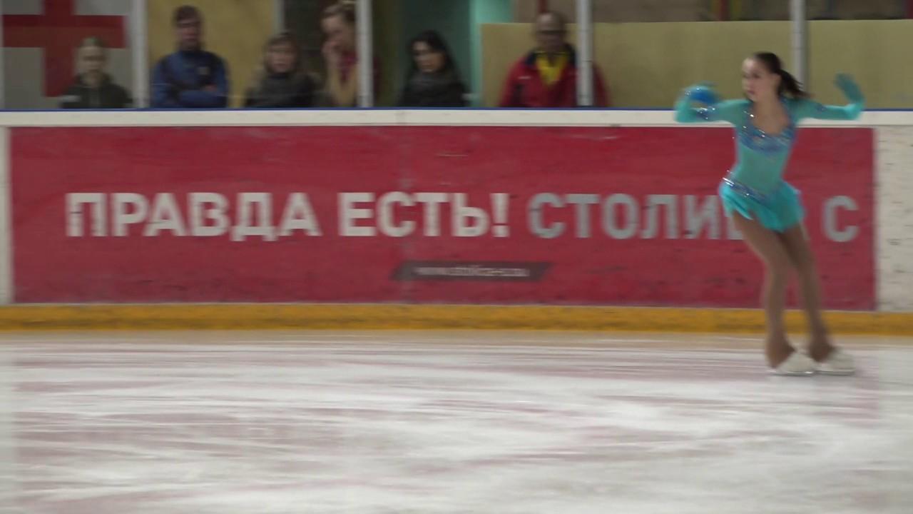 Финал VIII зимней Спартакиады учащихся: Алина Загитова
