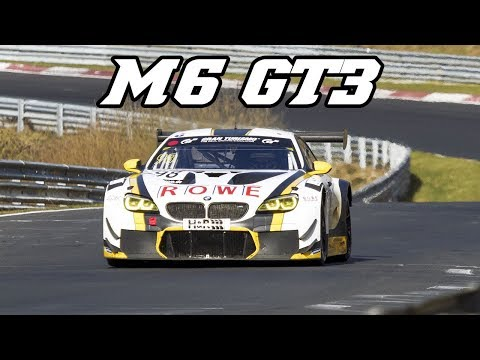 BMW F13 M6 GT3 - TURBO sounds at Nürburgring, Spa & Zolder