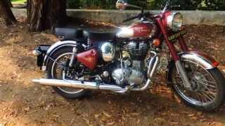 10. Royal Enfield Classic 500 Chrome