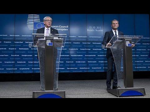 Εγκρίθηκε στη Σύνοδο Κορυφής το Σχέδιο Δράσης με τη Τουρκία για το προσφυγικό