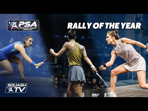Squash: Women's Rallies of the Year 2020
