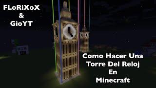 Como Hacer Una Torre Del Reloj De 6 Pisos En Minecraft