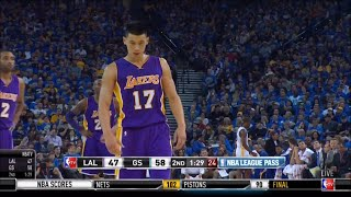 Jeremy Lin vs. Warriors (11-1-2014)