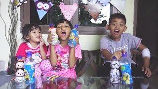 Video AQUA LOL Challenge | Syeza Nangis Karena Kalah😭 MP3, 3GP, MP4, WEBM, AVI, FLV Maret 2019