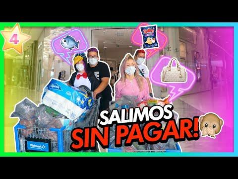 TEAM ANGEL DE COMPRAS!!!🛍 SALIMOS SIN PAGAR?!😱   CAP 4 TEAM ANGEL
