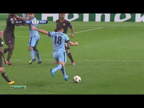 manchester city - roma 1-1: il gran gol di francesco totti