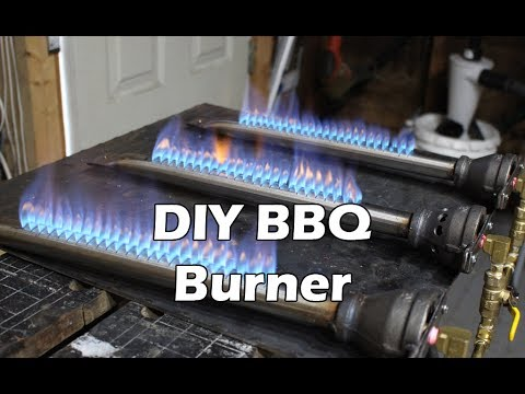How to Make a BBQ Burner - Propane