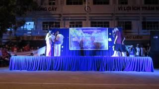 Mừng đảng Mừng Xuân 2013 -  Hành Trình Trên đất Phù Sa - 12A