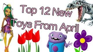 Hot New Toys: Monster High Freak Du Chic, Avengers Hot Wheels, Dreamworks Home, Jurassic World