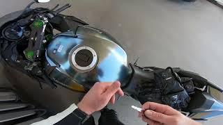 6. New Kawasaki Ninja H2 Carbon delivery and first ride 2018 !