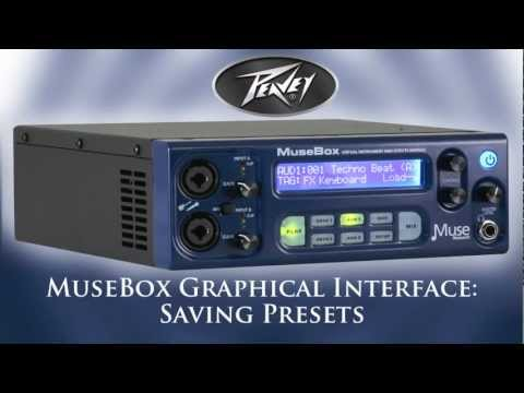 Saving Presets on the MuseBox