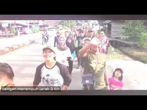 Jalan Sehat Keluarga Besar Rimbawan Kapuas Hulu Semarakkan Hari Bhakti Rimbawan