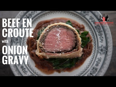 Bosch Beef en Croute with Onion Gravy | Everyday Gourmet S6 E32