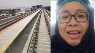 PKR assemblyman Dr Norlela Ariffin has praised the Sungai Buloh-Kajang (SBK) MRT project and taken a swipe at the Penang Transport Master Plan or PTMP.In the 3 minutes 43 seconds Facebook live broadcast, Penanti assemblyman Dr Norlela Ariffin compared the construction cost with the projected cost of the PTMP's light rail transit (LRT) plan.