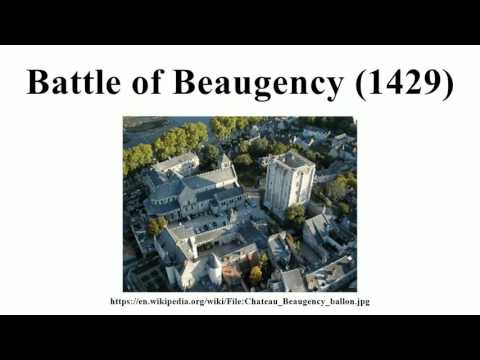 Battle of Beaugency (1429)
