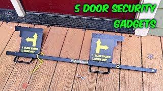Video 5 Door Security Gadgets put to the Test MP3, 3GP, MP4, WEBM, AVI, FLV Agustus 2018