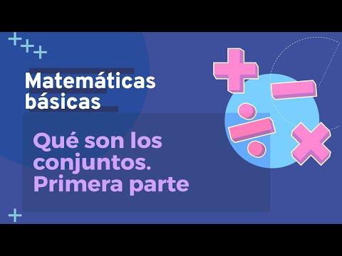 Aprende qué es un conjunto en matemáticas