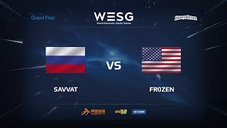 Fr0zen vs Savvat, game 1