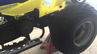 10. 2006 suzuki lt-z50 clutch problem
