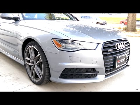 2016 Audi A6 Review 3.0 TFSI Black Optics