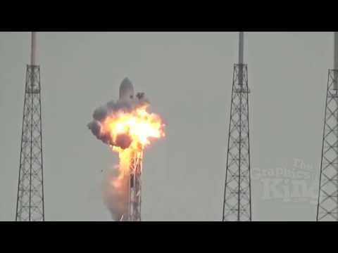 ¿Fue detonado por láseres extraterrestres el cohete Falcon 9 de SpaceX?