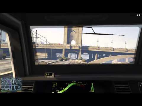 Grand Theft Auto V no PS4 captura direo do console (vídeo sem renderização)