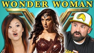 ADULTS REACT TO WONDER WOMAN TRAILER