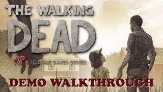 The Walking Dead — Telltale Games (Demo Walkthrough)