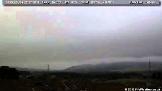 22 July 2013 - WeatherCam Timelapse - FifeWeather.co.uk