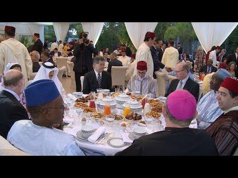 Un iftar – dîner en l'honneur du corps diplomatique accrédité au Maroc