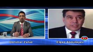 Elşad Abdullayev, Qənimət Zahidin suallarını cavablandırır - Azərbaycan Saatı 30.12.2012